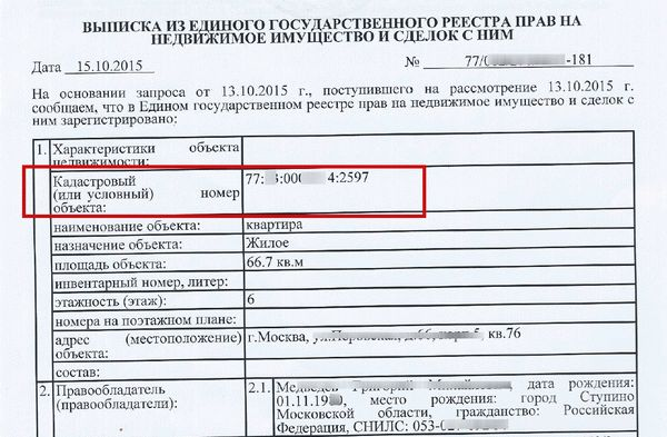Что означает расшифровка кадастрового номера земельного участка в 2019 году